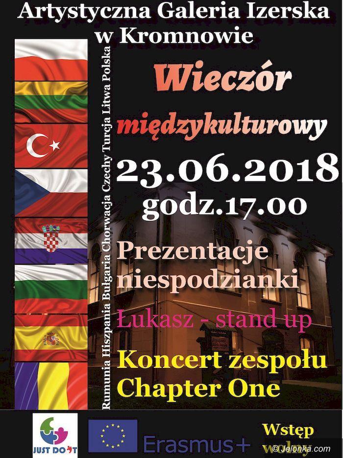 Region: Międzynarodowy wieczór w Kromnowie
