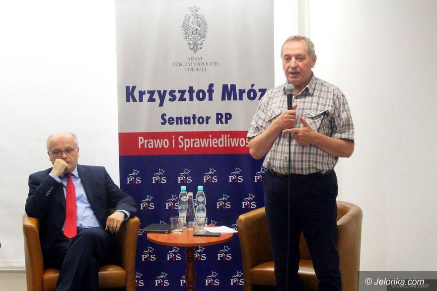 Jelenia Góra: Minister środowiska w Jeleniej Górze