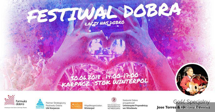 Karpacz: Festiwal Dobra w sobotę w Karpaczu