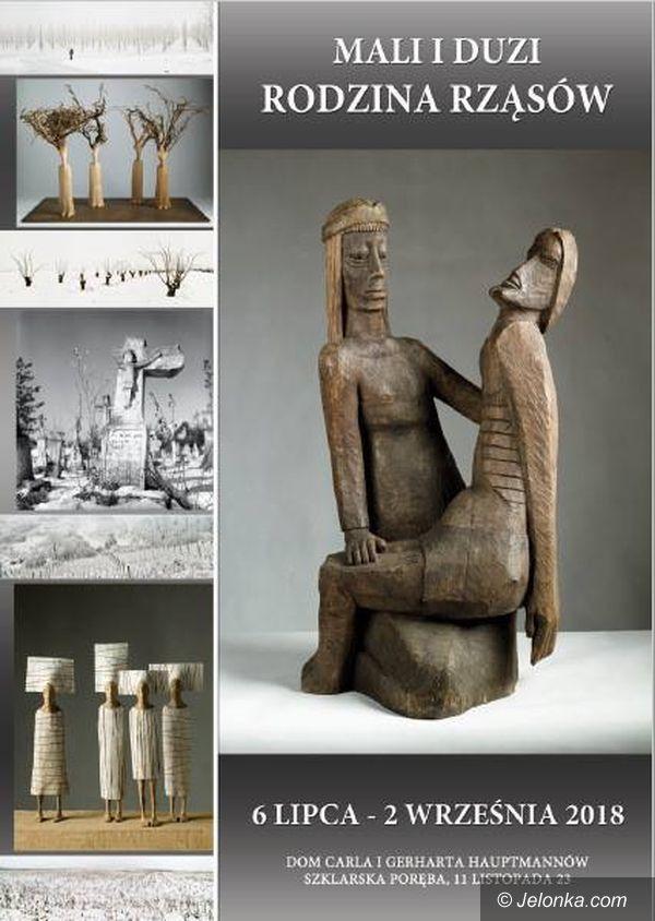 Szklarska Poręba: Wystawa rzeźby w Domu Hauptmannów