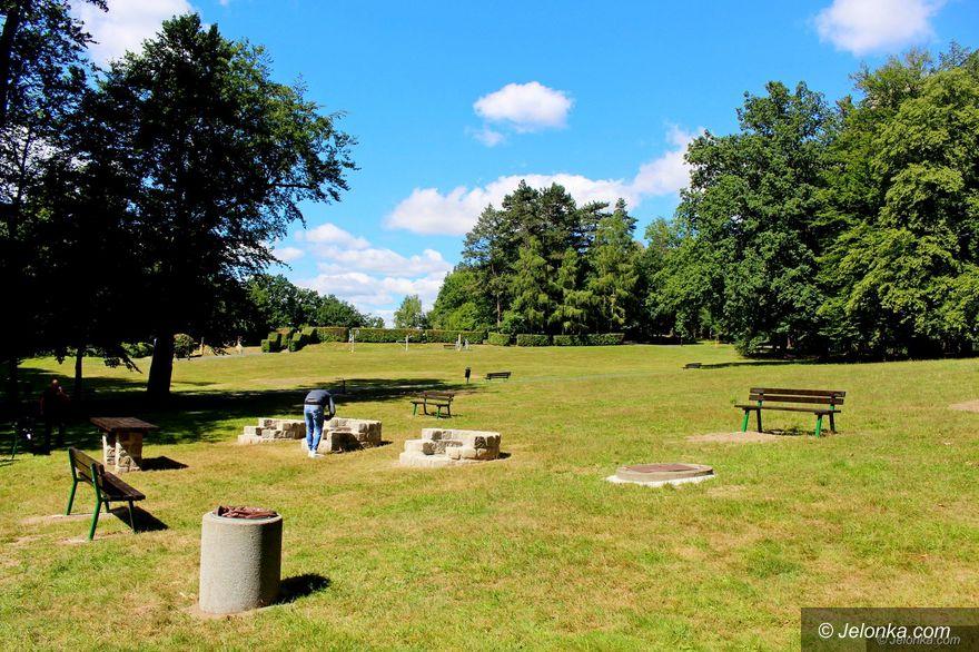 Jelenia Góra: Grille w parku gotowe