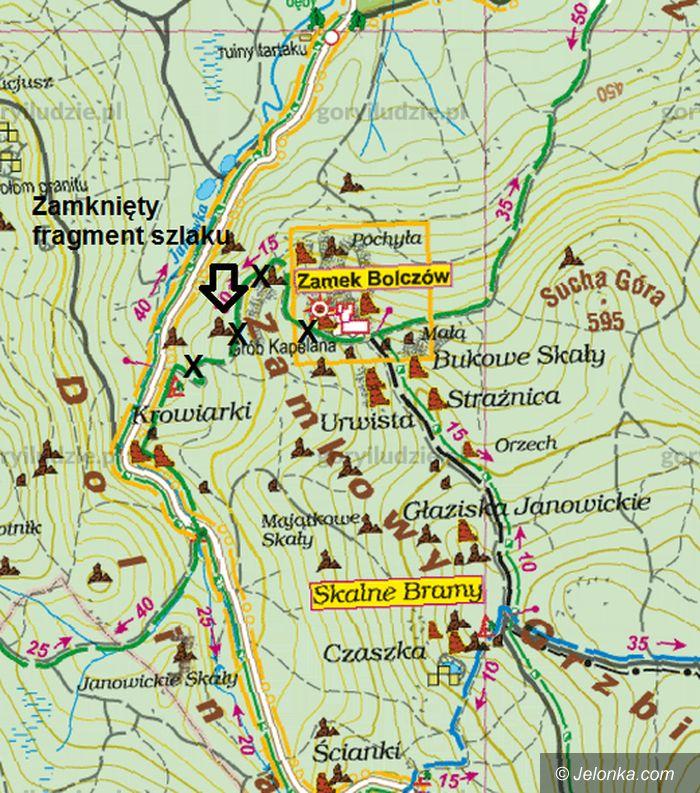 Region: Zamknięty szklak w Rudawach Janowickich