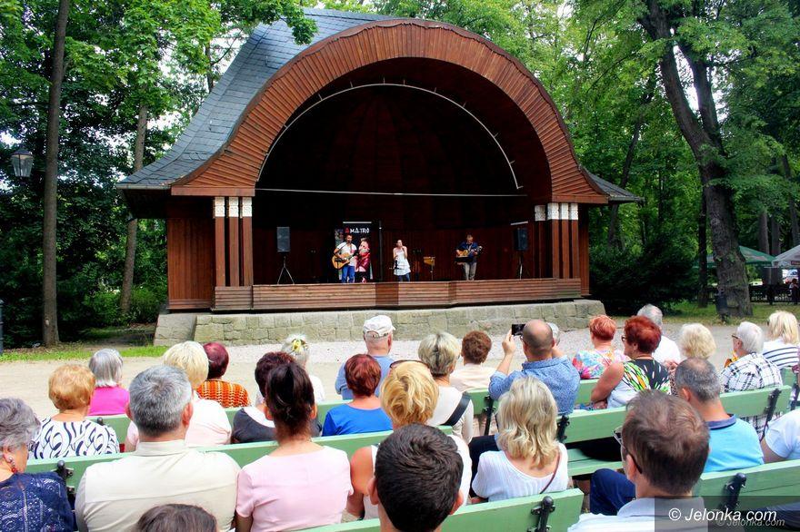 Jelenia Góra: Wspaniała muzyka.... w Parku Zdrojowym