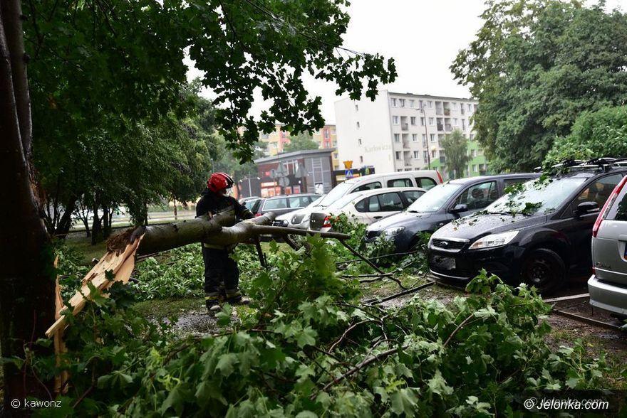 Jelenia Góra: Są szkody po ulewie