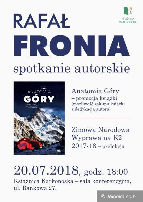 Jelenia Góra: Spotkanie z Rafałem Fronią