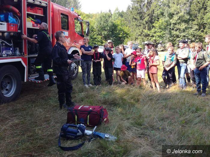 Region: Strażacy u harcerzy