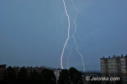 Region: Spodziewane burze i deszcz, lokalnie także grad