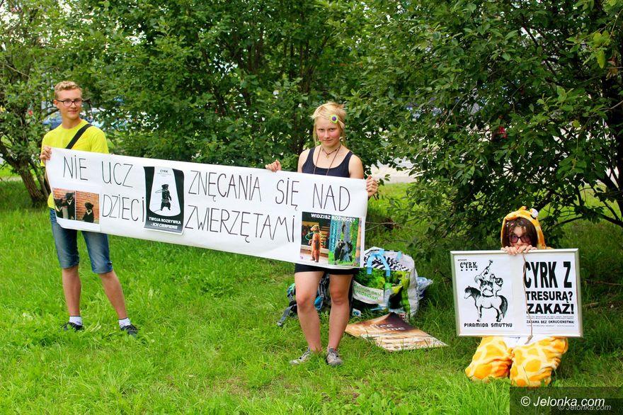 Jelenia Góra: Protestujący: