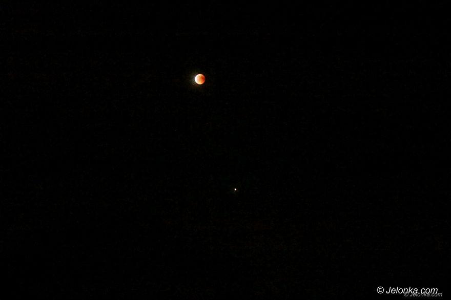 Jelenia Góra: Zaćmienie Księżyca i... Mars w opozycji