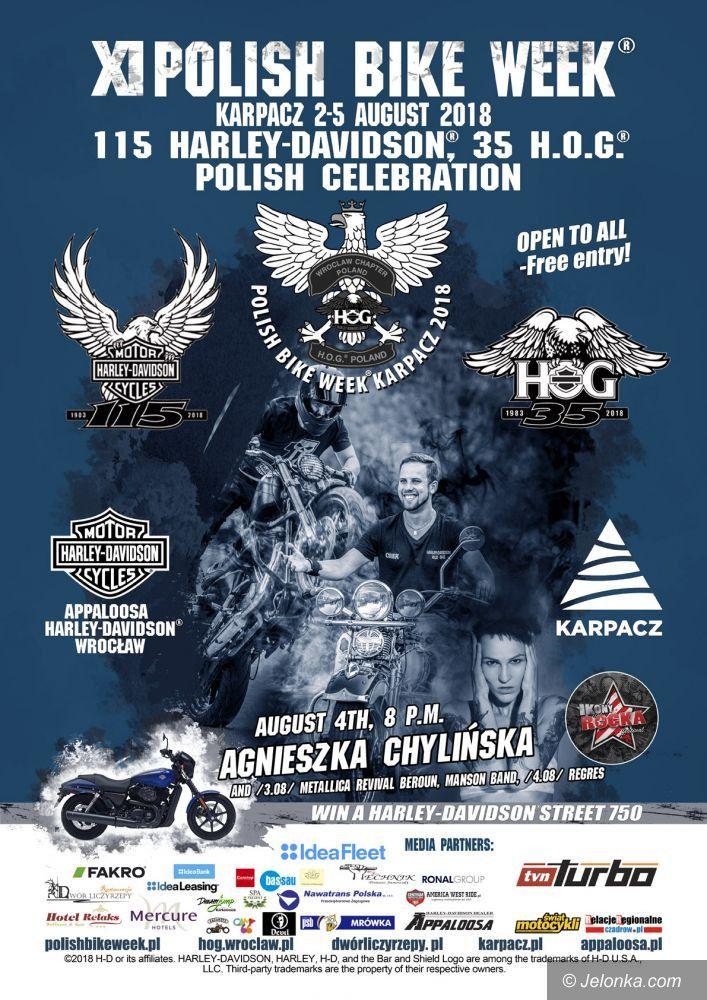 Karpacz: Motocyklowe święto z Agnieszką Chylińską
