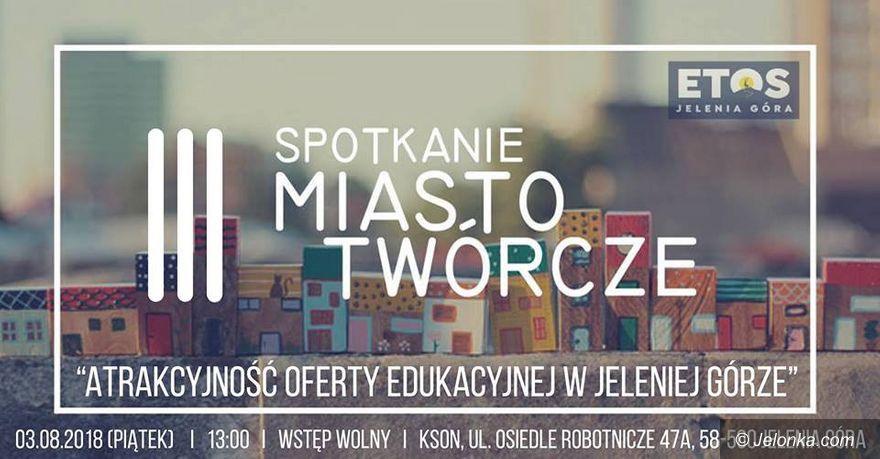 """Jelenia Góra: Kolejne spotkanie:  """"Miasto Twórcze"""""""