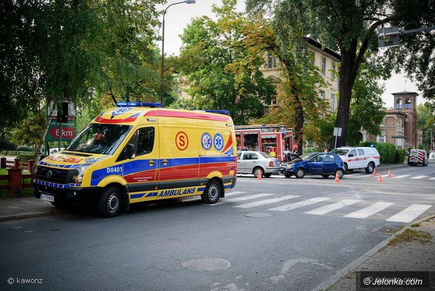 Jelenia Góra: Wypadek na krzyżówce