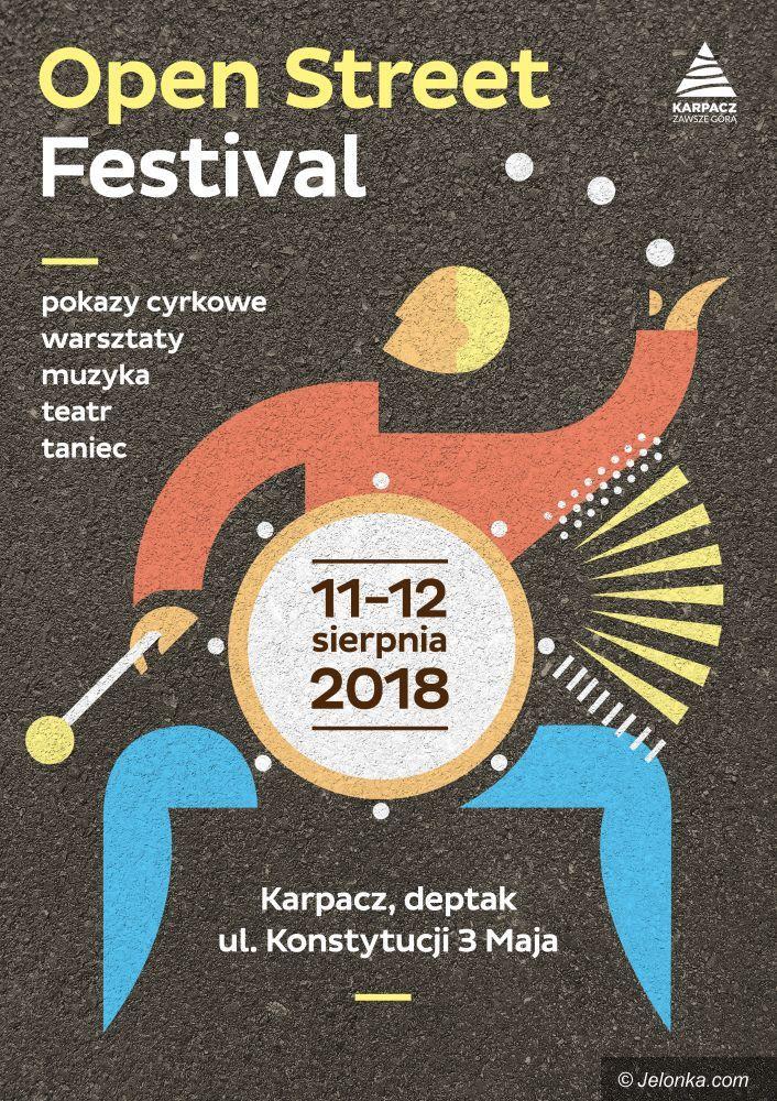 Karpacz: Festiwal sztuki ulicznej pod Śnieżką