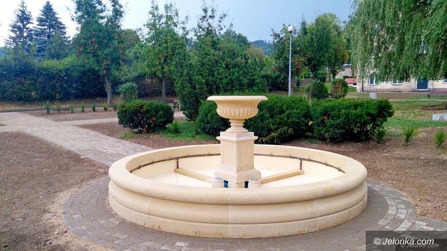 Wojcieszów: Po 30 latach fontanna działa