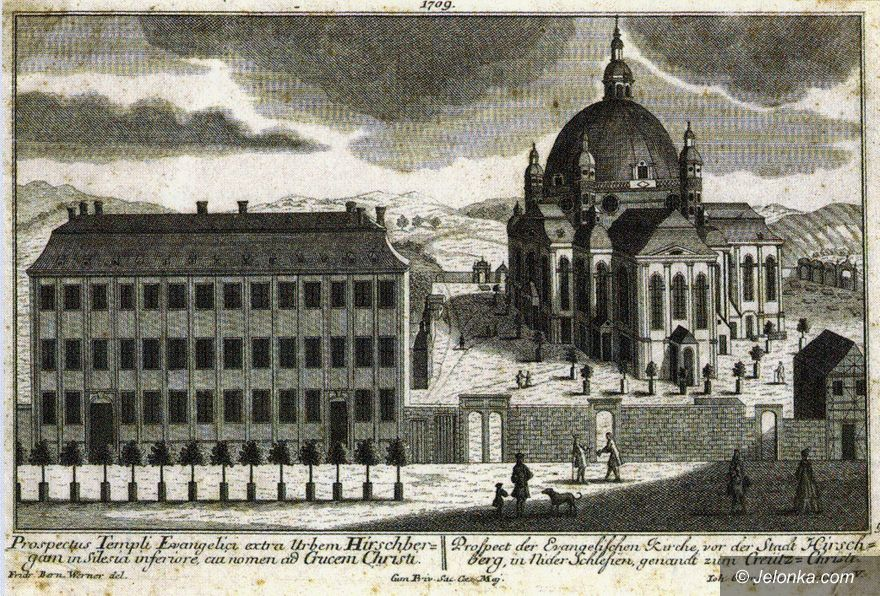 Jelenia Góra: Kościół Łaski i hrabia Johann Schaffgotsch