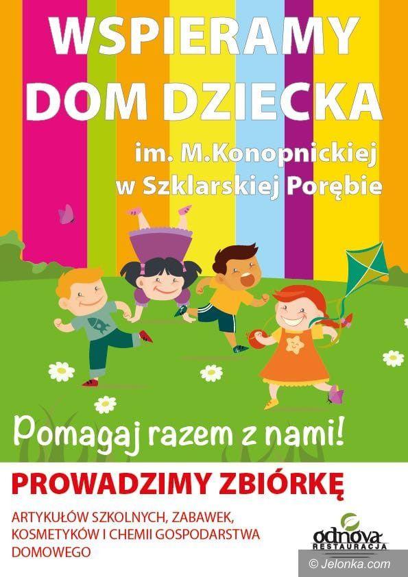 Szklarska Poręba: Zbiórka darów dla Domu Dziecka