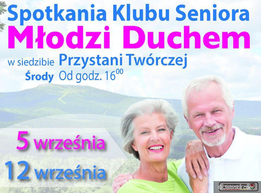 """Jelenia Góra: Wrześniowe spotkania u """"Młodych Duchem"""""""