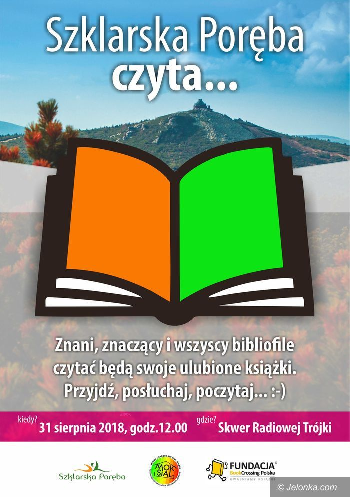 Szklarska Poręba: Wspólne czytanie pod Szrenicą