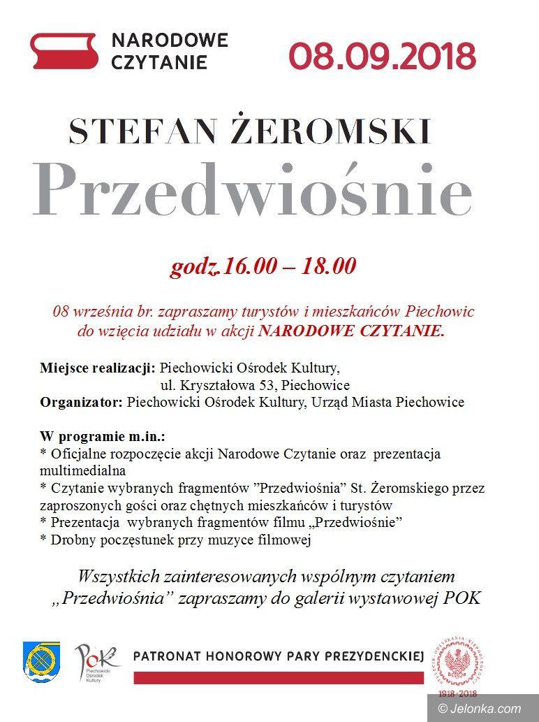 """Piechowice: """"Narodowe Czytanie"""" w Piechowicach"""