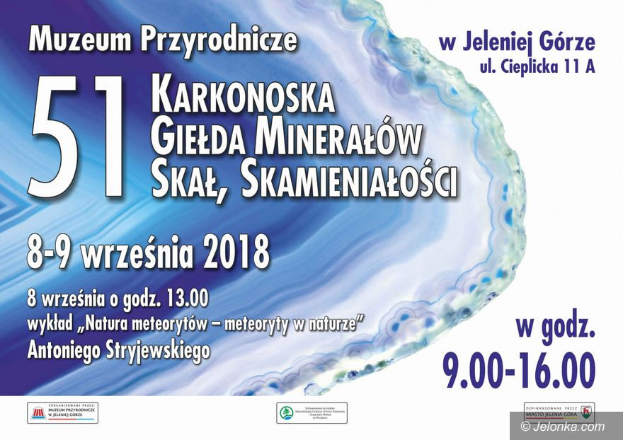 Jelenia Góra: Weekend z giełdą minerałów i wyrobów jubilerskich
