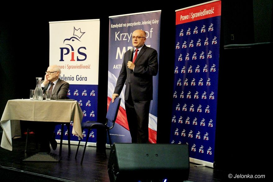 Jelenia Góra: Profesor Krasnodębski wspiera kandydata PiS