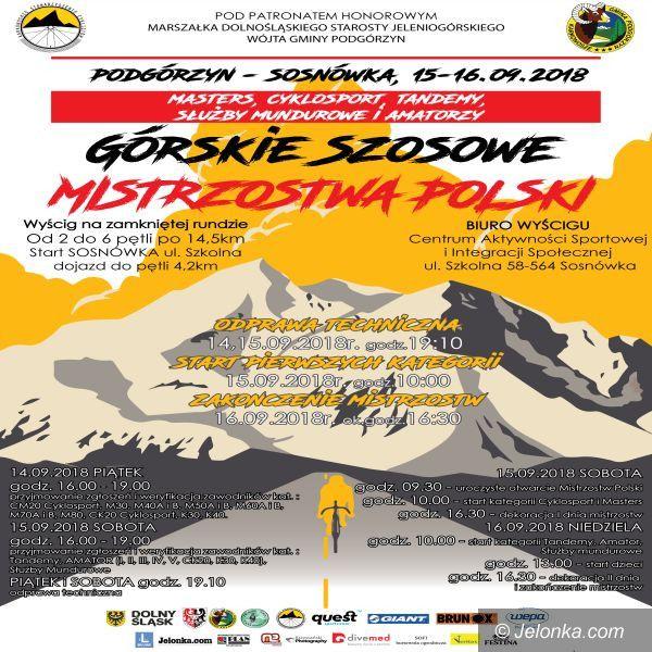 Region: Weekend z kolarskimi Mistrzostwami Polski!