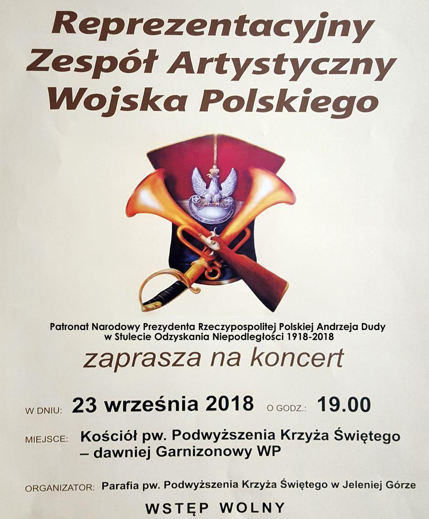 Jelenia Góra: W Kościele Łaski wystąpi Zespół Artystyczny Wojska Polskiego