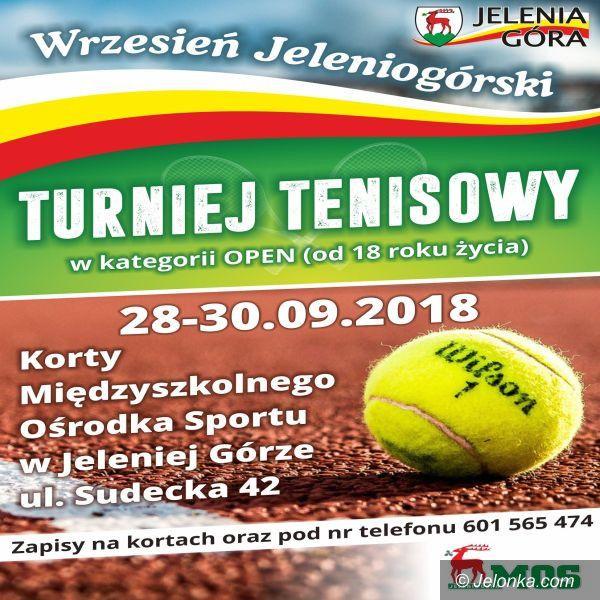 Jelenia Góra: Turniej tenisowy już w najbliższy weekend