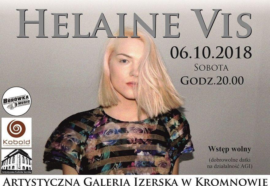 Kromnów: Koncert Helaine Vis w Galerii Izerskiej