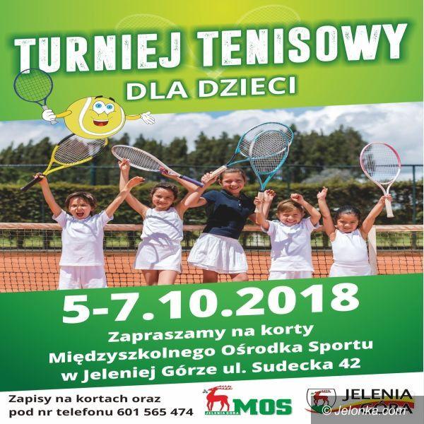 Jelenia Góra: Młodzi tenisiści powalczą o laury