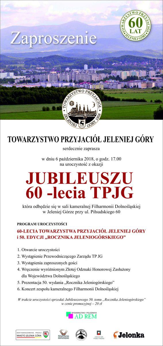 Jelenia Góra: Jubileusz TPJG w sobotę