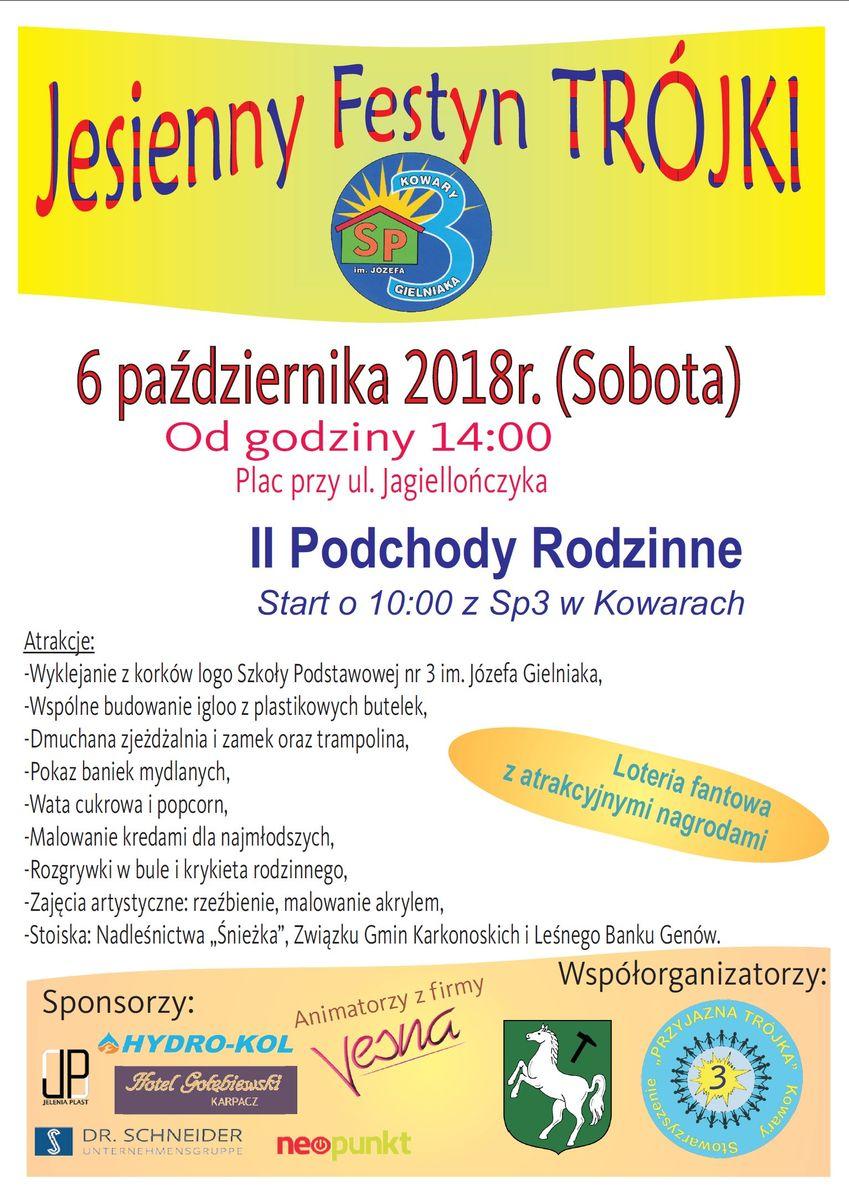 Kowary: Jesienny Festyn Trójki w Kowarach