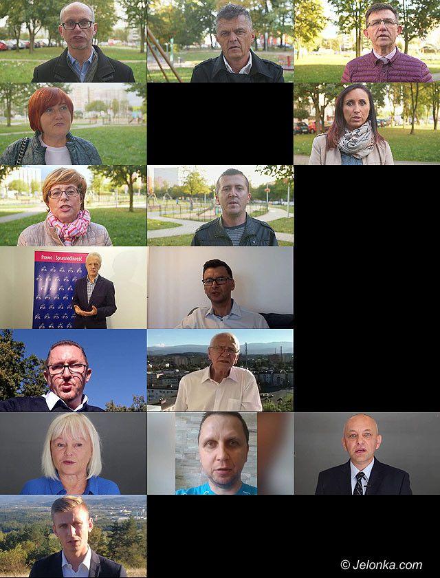 Jelenia Góra: Videoprezentacja kandydatów do rady – Okręg 1