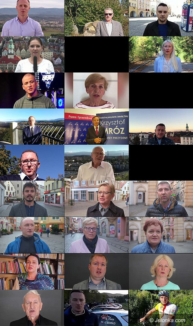 Jelenia Góra: Videoprezentacja kandydatów do rady – Okręg 2
