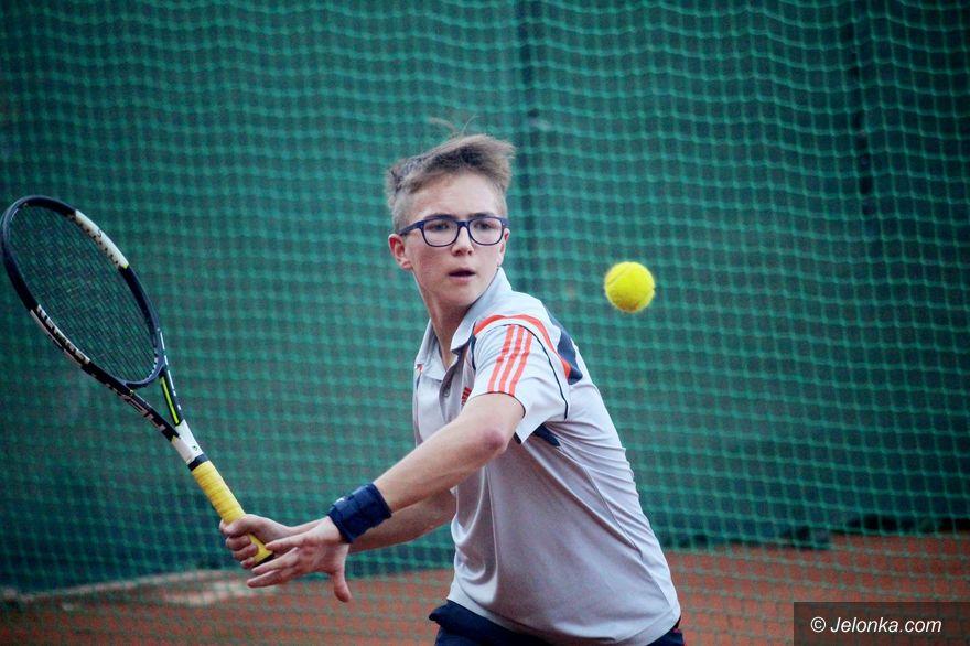 Jelenia Góra: Zmagania młodych tenisistów