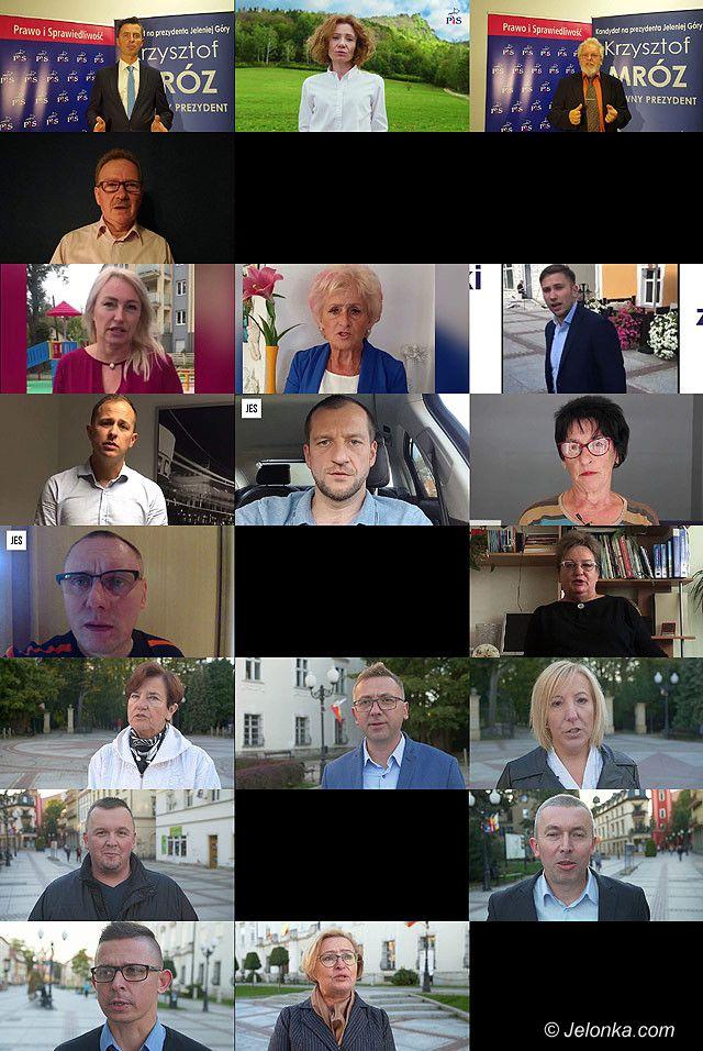 Jelenia Góra: Videoprezentacja kandydatów do rady – Okręg 4