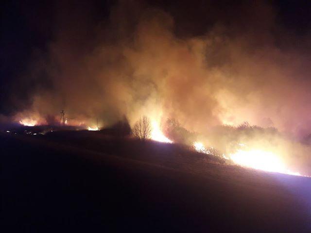 Jelenia Góra: Płoną wały w Cieplicach