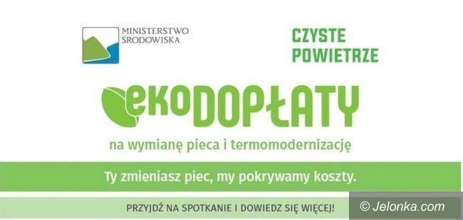 Karpacz: Spotkanie o programie wymiany pieców
