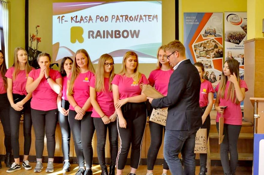 Jelenia Góra: Klasa patronacka Rainbow w Ekonomie