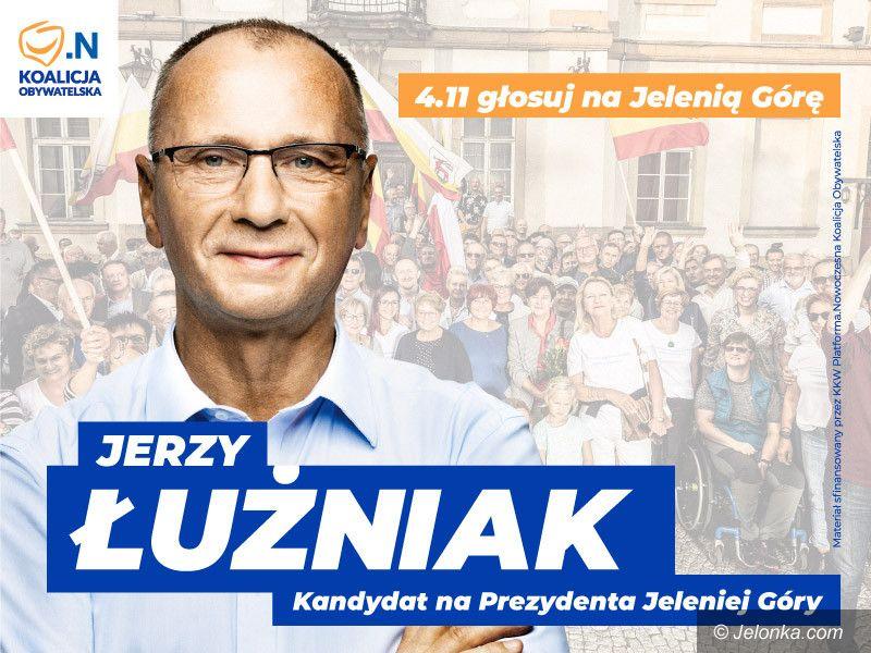 Jelenia Góra: Oświadczenie Jerzego Łużniaka
