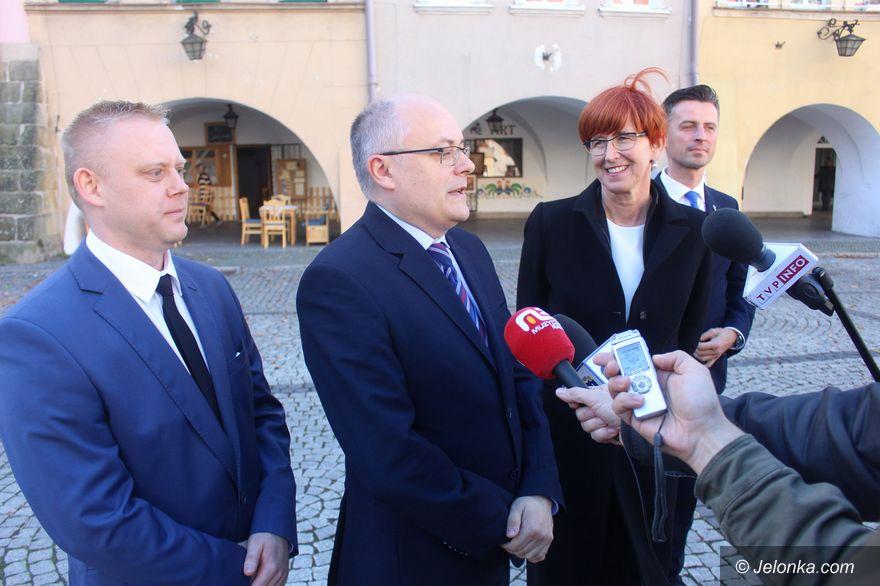 Jelenia Góra: Ministerialne wsparcie kandydata K. Mroza
