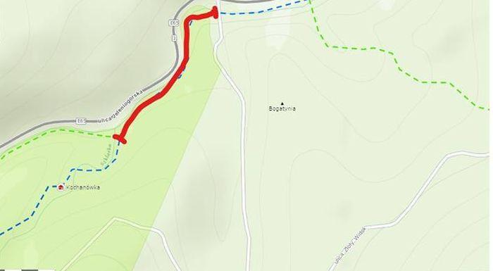 Szklarska Poręba: Zamknięty szlak w pobliżu Szklarki