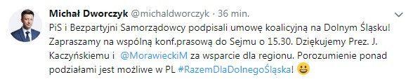 Polska: Jest koalicja PiS z Bezpartyjnymi Samorządowcami