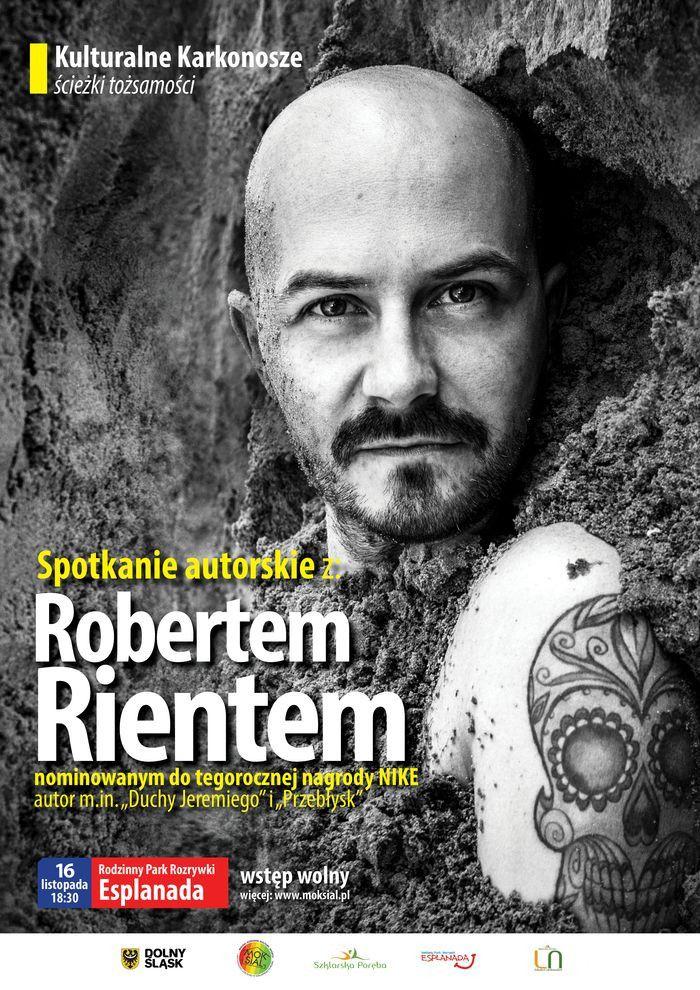 Szklarska Poręba: Spotkanie autorskie zRobertem Rientem