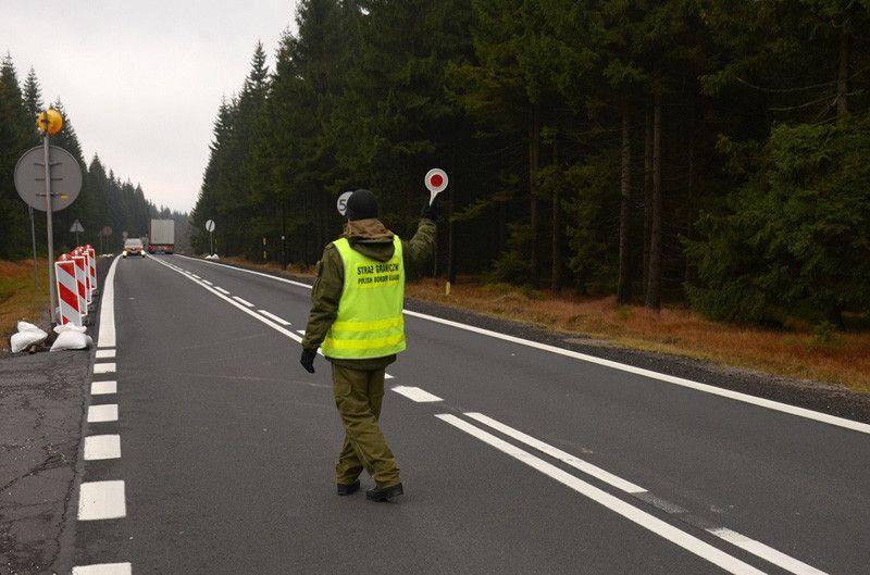 Region: Są kontrole na granicy