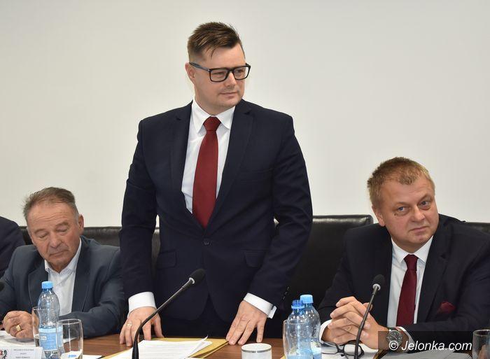Powiat: Krzysztof Wiśniewski starostą jeleniogórskim