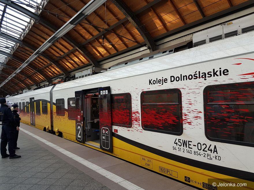 Region: Kto pomazał pociąg?