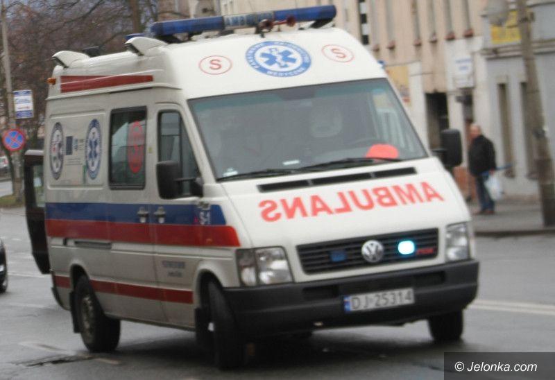 Jelenia Góra: Pogotowie nie zabrało bezdomnego do szpitala