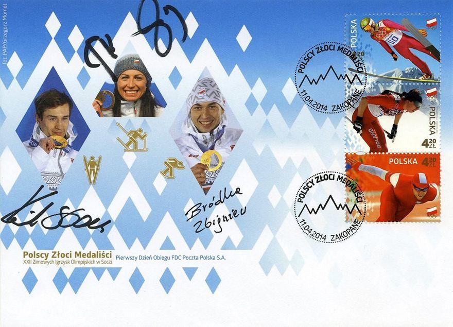 Karpacz: Unikalna koperta z podpisami mistrzów