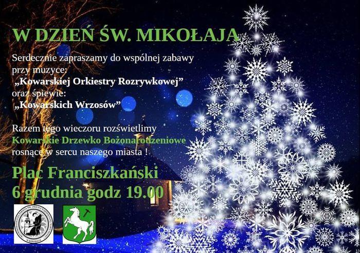 Kowary: W Mikołajki rozbłyśnie kowarska choinka